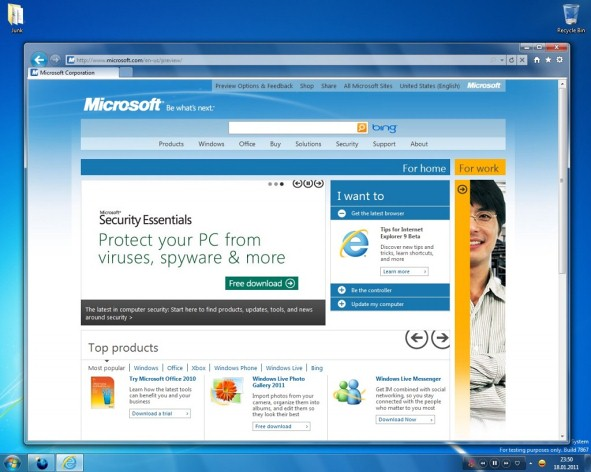 Windows 8 Screenshots