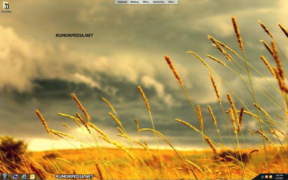 Windows 8 UI Screenshots and Details