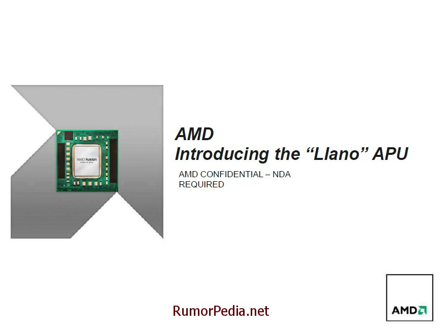 AMD Llano Benchmarks vs. Sandy Bridge