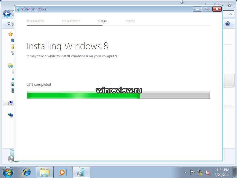 Leaked Windows 8 M3 Screenshots