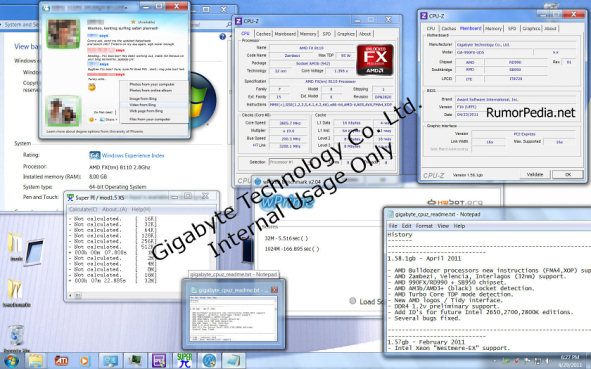 Exclusive AMD Bulldozer Details From Gigabyte