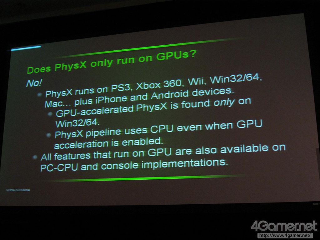 Leaked NVIDIA PhysX Roadmap