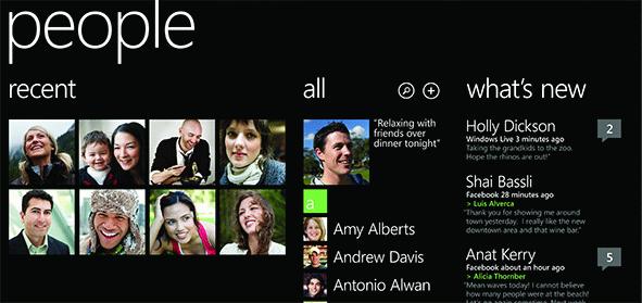 Windows Phone 8 Ditches The Arrow Icon, Reorganizes People Hub